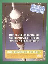 5/2007 PUB E FLORIDA INNOVATIVE STATE SIMULATION SOFTWARE SPACE VEHICLES NASA AD
