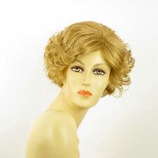 Perruque femme courte blond doré MATHILDE 24B