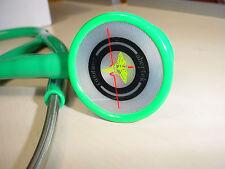 Abertek Green New Cardiology Stethoscope Model 410 & Warranty