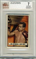 1951 Topps Ringside #23 Bob Satterfield BVG 7 NM *Light Heavyweight*