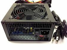 Quiet 700 Watt Power Supply SATA PCI-E for Intel AMD PC ATX Computer PSU Unit