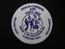 DON-R-CATERING AND PARTY HIRE SHOP5-90 WALDRON RD CHESTER HILL 6444027 COASTER