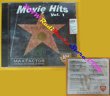 CD Compilation MAX FACTOR MOVIE HITS VOL 1 Forrest Gump Grease PROMO no dvd(C15)