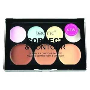 Technic Cream Colour Correct and Contour Palette Corrector Concealer