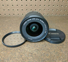 Canon EOS EF-S 10-18mm f/4.5-5.6 IS STM Wide-Angle Zoom Lens - Nice!