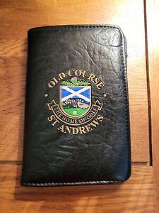 St.Andrews Golf Scorecard Wallet