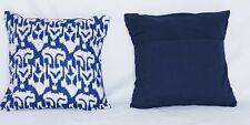 FREE SHIPPING AamiraA Handmade Blue Kantha Threaded Pillow Cushion Covers