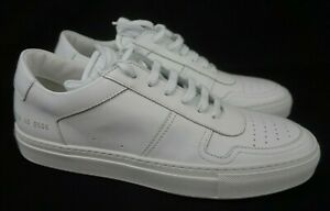 Common Projects BBall Low Leather Men's White Sneakers 2128 0506 Size 40 EU 7 US