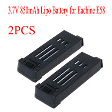 2X para Eachine E58 L800 JY019 S168 Drone Pro RC Drone 3.7V 850mAh X Lipo Batería