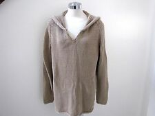74ce8564ef NWT s Jones New York beautiful tan big knit heavy hooded sweater 2X