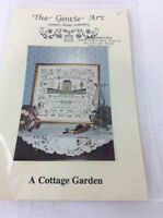 The Gentle Art Embroidery Cross Stitch Pattern Chart A Cottage Garden
