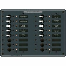 Blue Sea Systems 8377 16 Position DC Breaker Panel
