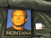 Joe Montana Autographed Montana Book PSA Certified