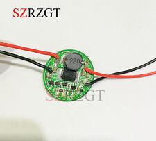 Entrada 3.7 V ~ 30 V 27 mm controlador para CREE LED 1 ~ 3PCS 10 W T6/U2 XM-L2/U2 Linterna XML