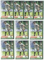 x20 BRENDAN RODGERS 2019 Topps Holiday Green #171 Rookie Card RC lot/set Rockies