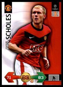 Panini Champions League 2009-2010 Super Strikes - Scholes Paul Manchester United