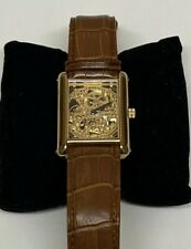 Genuine Yves Camani Unisex Watch YC1022-B AUTOMATIC With Brown Leather Bracelet