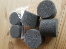 2x Universal Foam Loud Speaker Bungs 50mm. also see other listing for larger