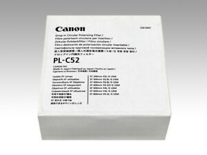 Canon 52mm Drop-in Circular Polarizer Filter PL-C 52 (WII) Insertion type NEW
