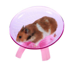 RUNNING DISC WHEEL FLYING SAUCER EXERCISE TOY FOR PET RAT HAMSTER GUINEA PIG FAD