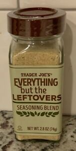 TRADER JOE'S EVERYTHING BUT THE LEFTOVERS SEASONING BLEND-2.6 OZ.-NEW!