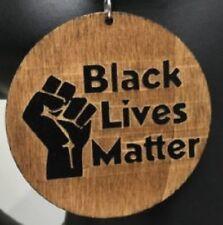 Black Lives Matter Earrings Wood earrings