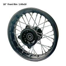 10 Inch Front Rim for 50cc 70cc 90 110cc Thumpster Atomik MX Dirt Pit Trail Bike