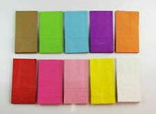 100 X Plain Paper Lolly Bags Bag Wedding Birthday Favour Favours Gift