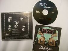THE FEVER Ladyfingers MIXES – 2005 USA CD PROMO – Electronic Rock – V RARE!