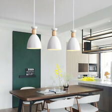 Modern Pendant Light Kitchen Lamp Room Ceiling Lights White Chandelier Lighting