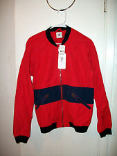 U CLOTHING RED NAVY BLUE MENS BASIC JACKET NWT NEW WITH TAGS