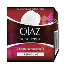 Olaz Regenerist 3 Zone Replacement Brush Head for Face Cleansing Brush Pack of 2
