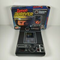 Vintage 1978 Tomy Palitoy Demon Driver Electro Mechanical Racing Game Boxed