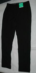 Ladies Size 10 Mountain Warehouse Black Soft Shell Trousers Walking Water Resist
