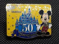Disney Disneyland AAA Travel 50th Anniversary PIN Happiest Homecoming Mickey