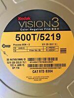 KODAK VISION3 500T-5219 Color Negative Film  35 mm x 400 ft (122m) (Sealed)