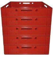 5 Stück Fleischerkiste Vorratsbox Aufbewahrungsbehälter E1 Gastlando