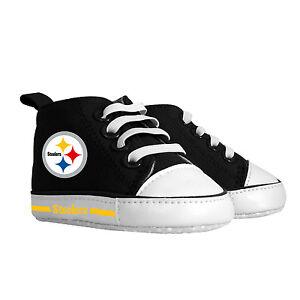 Pittsburgh Steelers Baby Shoes, NFL Pre-Walker Hightops High Tops