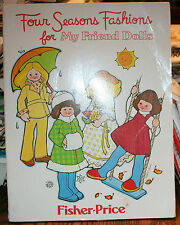 VINTAGE SEWING PATTERNS FISHER PRICE DOLL PATTERNS FOUR SEASONS FASHIONS
