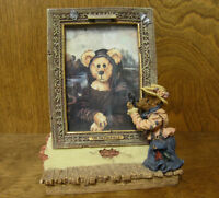 "Boyds Bearstones Frames #27301 THE COLLECTOR, 8"", NEW/box From Retail Store"