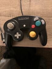 Nintendo Nintendo Gamecube Wii Controller Black Wired Official Genuine