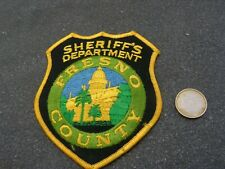 PATCH POLICE ECUSSON COLLECTION  USA   police fresno