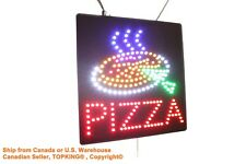 Pizza Sign Sign Neon Sign LED Open Sign Store Sign Business Sign Window Sign