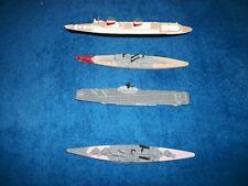 Vintage die -cast metal 1200 scale ships