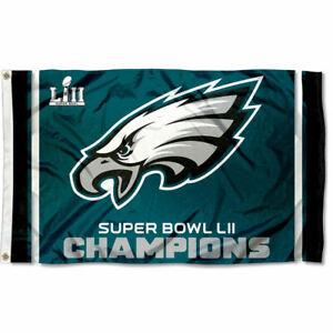Philadelphia Eagles Super Bowl Champions Large Outdoor Flag