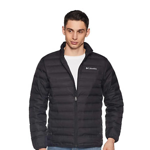 Columbia men's Lake 22 Down Puffer Jacket Black WS0951 Size 4X