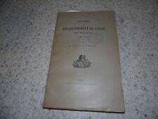 1925.Histoire du rétablissement du culte en France.Boulay de la Meurthe