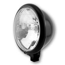 Hauptscheinwerfer Klarglas Scheinwerfer Bates 5 3/4 12V H4 Schwarz E-geprüft TÜV