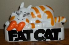 Vintage Fat Cat Bank Cartoon   !!!VERY HARD TO FIND!!!