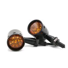 4x Black Motorcycle Turn Signal indicator Honda VTX 1800 TYPE C R S N F T RETRO